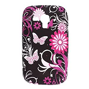 SOL Flower and Butterfly TPU Soft Case for Samsung Galaxy Trend Duos S7562