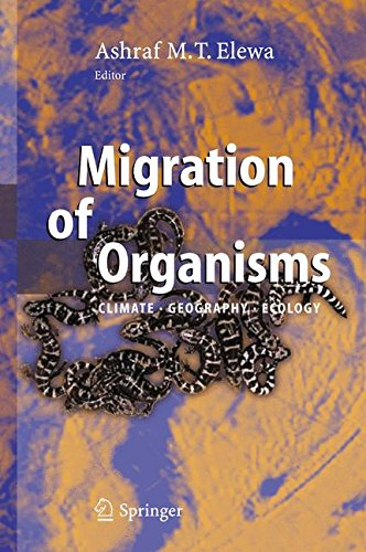 Migration of Organisms: Climate. Geography. Ecology