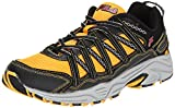 Fila Men's Headway 4 Trail Running Shoe, Gold Fusion/Black/Fila Red, 8 M US
