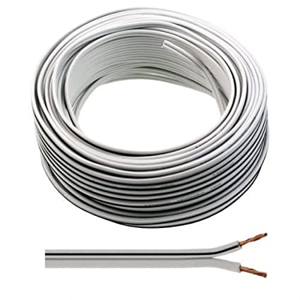 Outstanding 30M Of White Speaker Cable 13 Strand By Auline For Amazon Co Uk Wiring 101 Ouplipimpapsstreekradiomeanderfmnl