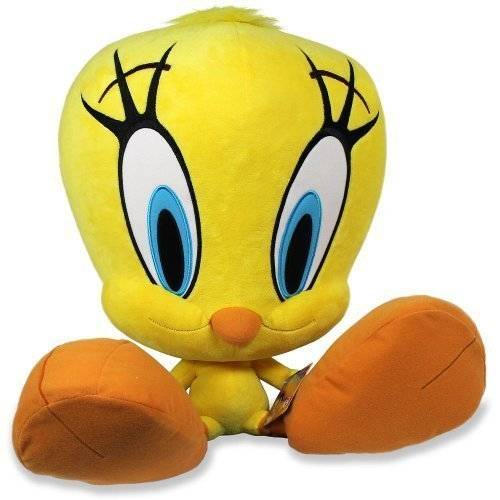 - The Bridge Direct Looney Tunes Jumbo Plush - Tweety