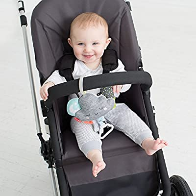Skip Hop Silver Lining Cloud Jitter Stroller Toy, Multi : Baby