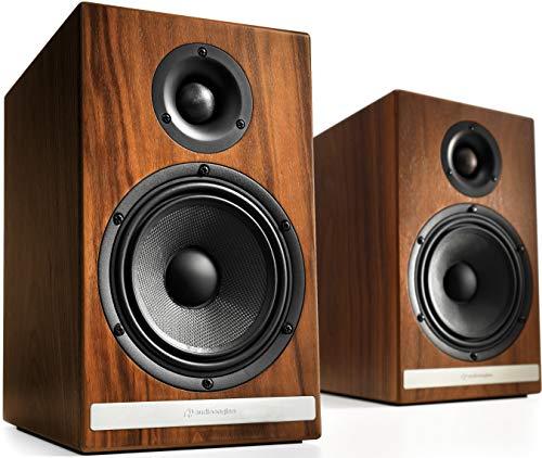 (Audioengine HDP6 150W Passive Bookshelf Speakers (Walnut))