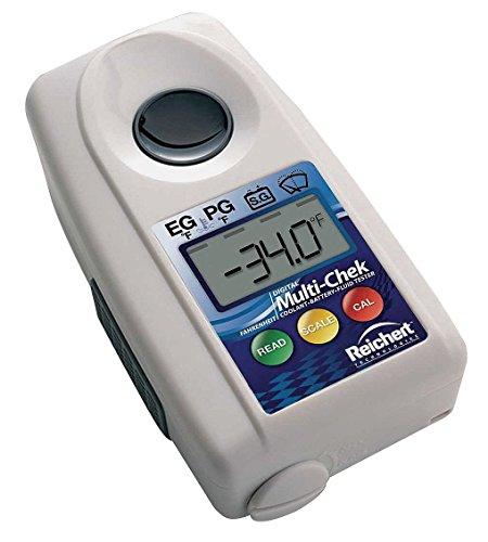 (Reichert 13940014 3.9 x 2.13 x 1.06 Automatic Digital Refractometer, 10