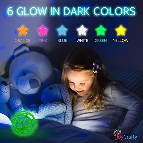 26pc-3D-Pen-Filament-Refills-175mm-ABS-520-Linear-Feet-20-foot-each-Total-26-Different-colors-fun-pack-6-Glow-In-The-Dark-Colors-FREE-Stencils-eBook
