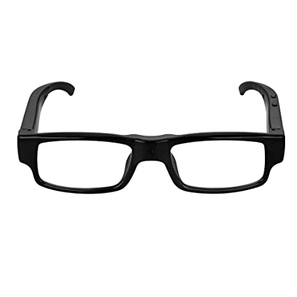 16bdf7981e Buy MatLogix 1920 x 1080 Spy Eyeglasses with Clear Lenses Hidden Camcorder  DVR Video Recording High Definition HD Camera Eyewear 8GB Card Online at  Low ...