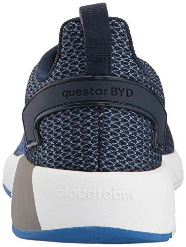 Adidas Mens Questar Byd Scarpa Da Running Blu Scuro / Blu / Acciaio Grezzo