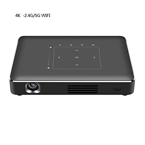 Lzz 4K Proyector Mini WiFi Proyector DLP para Home Cinema ...