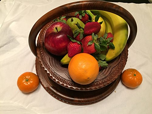 VALENTINES DAY LOVE Gift Wooden Collapsible Fruit Basket (12
