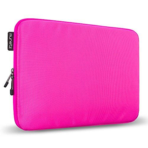 Runetz - 13-inch HOT PINK Soft Sleeve Case for NEWEST