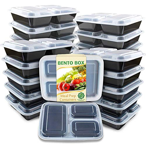 Enther Meal Prep Containers 36oz Lids