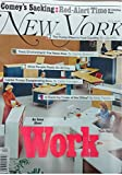 img - for New York Magazine (May 15-28, 2017) An Issue About Work book / textbook / text book
