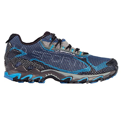 La Sportiva Men's Wildcat 2.0 GTX Trail Running Shoe,Blue/Black,45 EU/11.5 M US