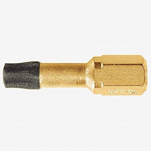 - Wiha 71574 T10 x 25mm Torx Dura Insert Bit