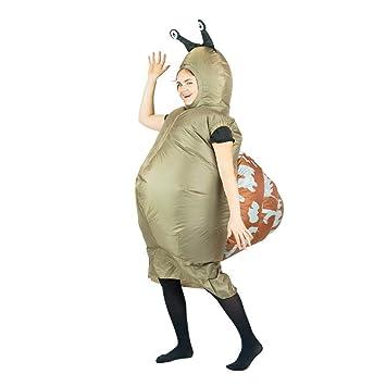 Bodysocks® Disfraz Hinchable de Caracol Adulto