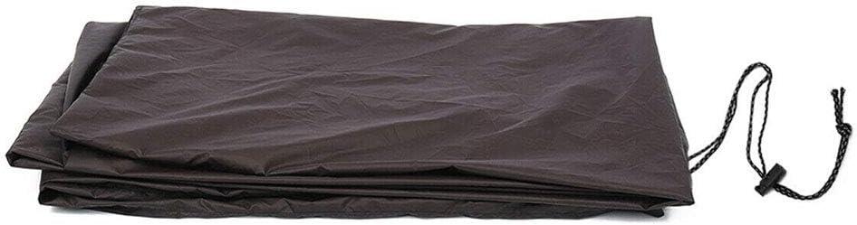 impermeable No nulo Tama/ño libre 245 x 140 x 20 cm tela Oxford para billar Funda para mesa de billar Dengofng negro