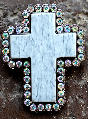 - Challenger Tack 4 Conchos Rhinestone Horse Saddle Western Cross CO166
