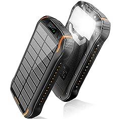 Cargador solar IPX6