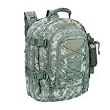 PANS Military Expandable Travel Backpack Tactical Waterproof Outdoor 3-Day Bag,Large,Molle System...