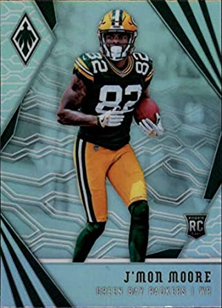 04ebf4943 2018 Phoenix NFL  136 J Mon Moore RC Rookie Green Bay Packers Rookie  Official
