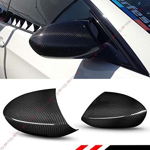Cuztom Tuning Fits for 2007-2013 BMW E90/E92/E93 M3 Full Dry Carbon Fiber Side Mirror Replacement Cover Caps