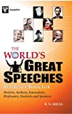 The World's Great Speaches, B.N. Ahuja, 8172450672