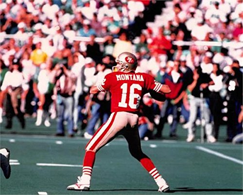 Joe Montana Unsigned 8x10 photo (San Francisco 49ers) Image #1