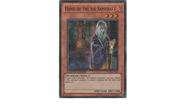 YuGiOh Hand of the Six Samurai STOR-ENSE2 Super Rare Limited Edition