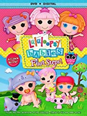 Join the Lalaloopsy friends for this sew sweet movie about their first adventures together! After they discover an old scrapbook filled with photos and mementos from when they were babies, the friends reminisce about their nursery days. They ...