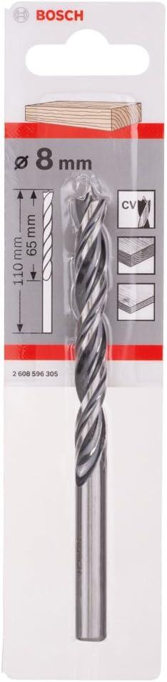 8 mm Bosch 2608596305 Standard Brad Point Drill bits