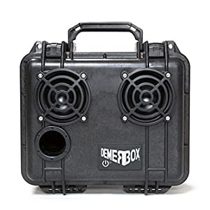 (Almost) Indestructible Bluetooth Speaker. Waterproof, Portable, and Rugged Bluetooth Speakers with Deep Bass & Loud Sound, 50hr Battery Life, Internal Storage + USB Charging, 100ft Bluetooth Range by DemerBox