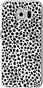 S6 Case Samsung Galaxy S6 Cover black and white leopard print sale on ZENG Case
