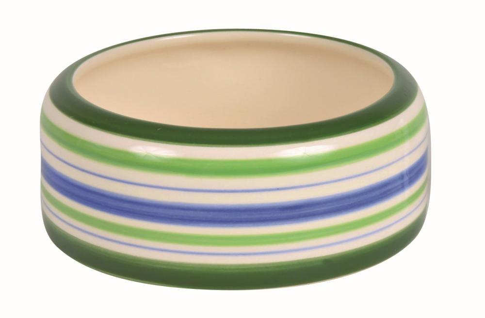 Cibo/Acqua Ciotola in ceramica per porcellini d' India, 200ml/ø 11cm Trixie 60806
