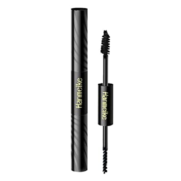3D Fiber Mascara Watearproof Smudgeproof Hypoallergenic Fiber Long Curling Eyelash Extension Natural Midnight Black Makeup Mascara