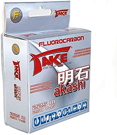 Take Akashi Japan Fluorocarbon Line Tippet ultraclear 50m 100m 225m selection