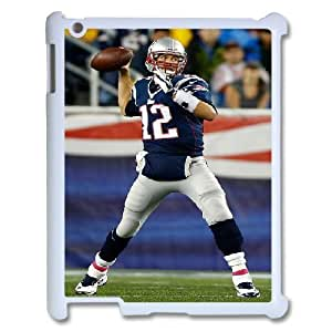 3D Tom Brady Series, IPad 2,3,4 2D Cases, Tom Brady Gillette Stadium Cases For IPad 2,3,4 2D [White] by ruishername
