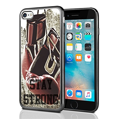 Price comparison product image Stay Strong Boxing Gloves For Iphone 7 Case Cover By Atomic Market