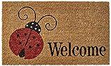 Ladybug Welcome Doormat