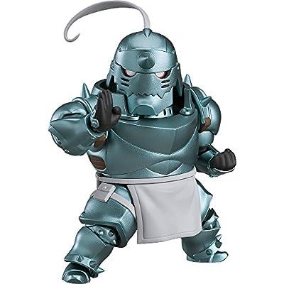 Good Smile Fullmetal Alchemist: Alphonse Elric Nendoroid Action Figure: Toys & Games