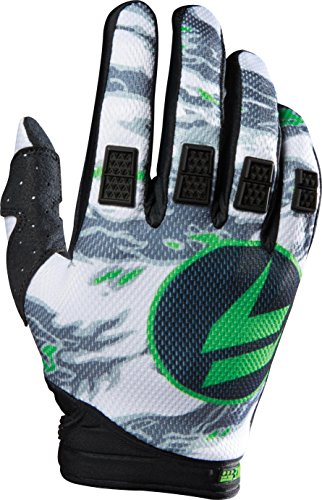 Shift Racing Strike Men's Off-Road Motorcycle Gloves - Black Camo/Large