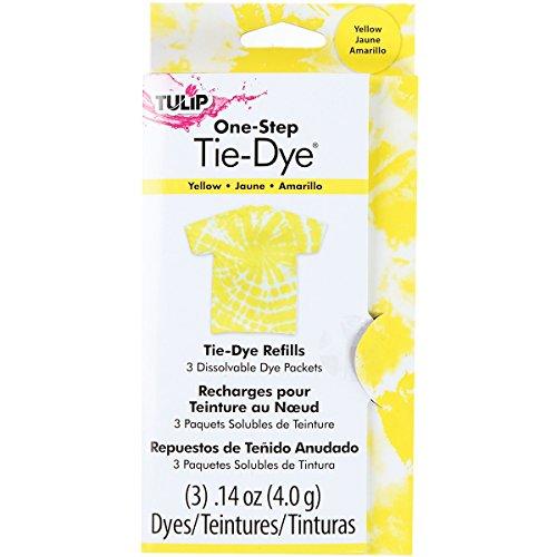 yellow tie dye - 2