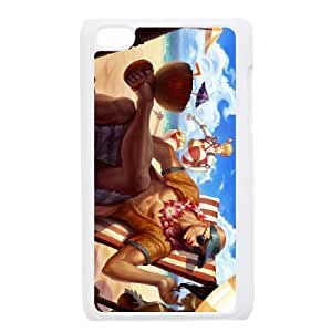 iPod Touch 4 Case White League of Legends Pool Party Lee Sin LWY3578198KSL