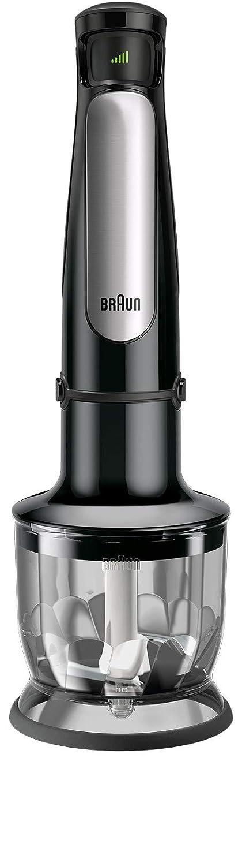 11 accessori inclusi colore: Nero//Acciaio INOX Frullatore a immersione tritatutto 1000 W Braun Multiquick 7 MQ 7087X frusta e robot da cucina con tecnologia ActiveBlade,frullatore a immersione