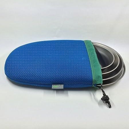 Amg titanio placa 4pcs Set camping cocina al aire libre ...
