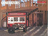 1990 1991 Kawasaki Power Generator Brochure