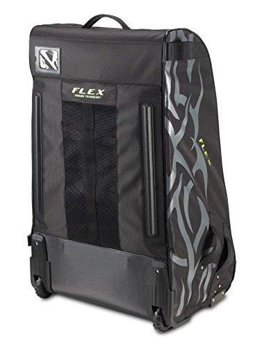 Grit Inc. Flex Hockey Tower Medium Equipment Bag 33-Inch, Black FLX1-033-B by Grit (Image #2)