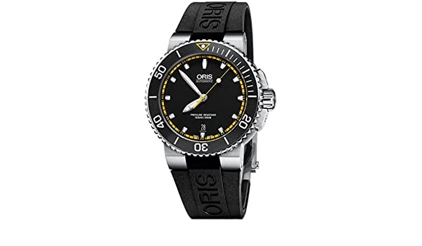 Amazon.com: Oris 73376534127-0742634EB Black Steel 316 L Man Watch: Watches
