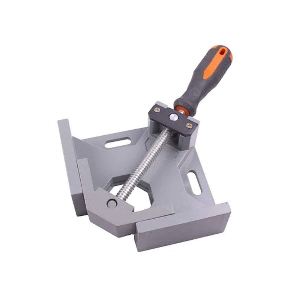 Abrazadera de /ángulo recto de 90/° para carpintero soldadura ingenier/ía carpintero enmarcado de fotos herramientas de abrazadera de esquina de tornillo ajustable trabajo en madera
