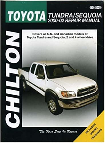 Toyota tundra sequoia 2000 2002 chiltons total car care repair toyota tundra sequoia 2000 2002 chiltons total car care repair manual haynes manual 9781563924880 amazon books solutioingenieria Image collections