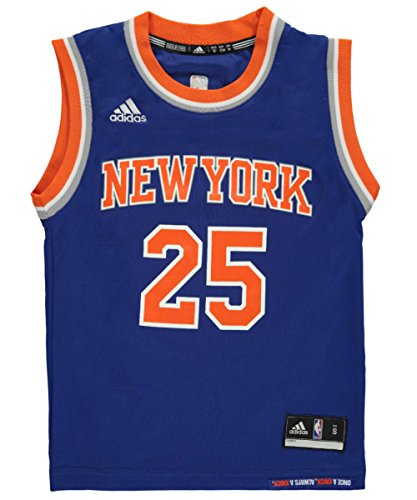 Adidas New York Knicks Derrick Rose Royal Replica Jersey - Boys